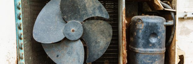 What to Do About a Rusty Air Conditioner