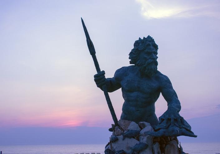 King Neptune At Va. Beach